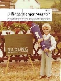 Bilfinger Berger Magazin Bildung