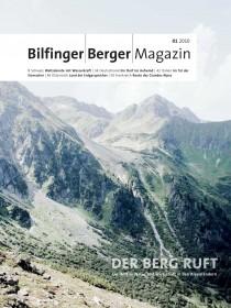 Bilfinger Berger Magazin Natur Alpen