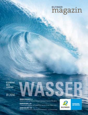 Bilfinger Magazin Wasser