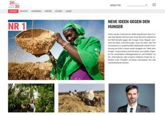 Welt ohne Hunger - Webseite